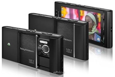 Sony Ericsson Satio, Idou, 12 Megapixels, Touchscreen