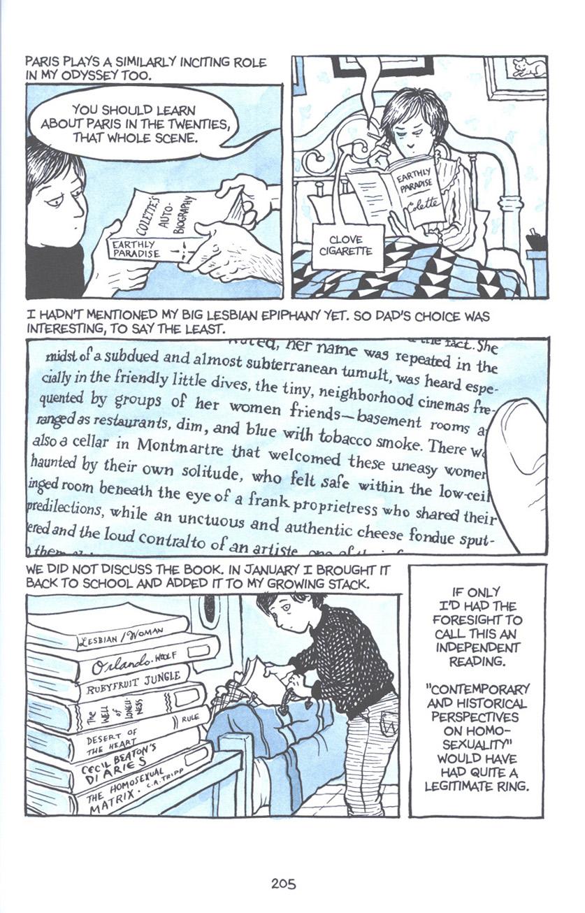 Read online Fun Home: A Family Tragicomic comic -  Issue # TPB - 211