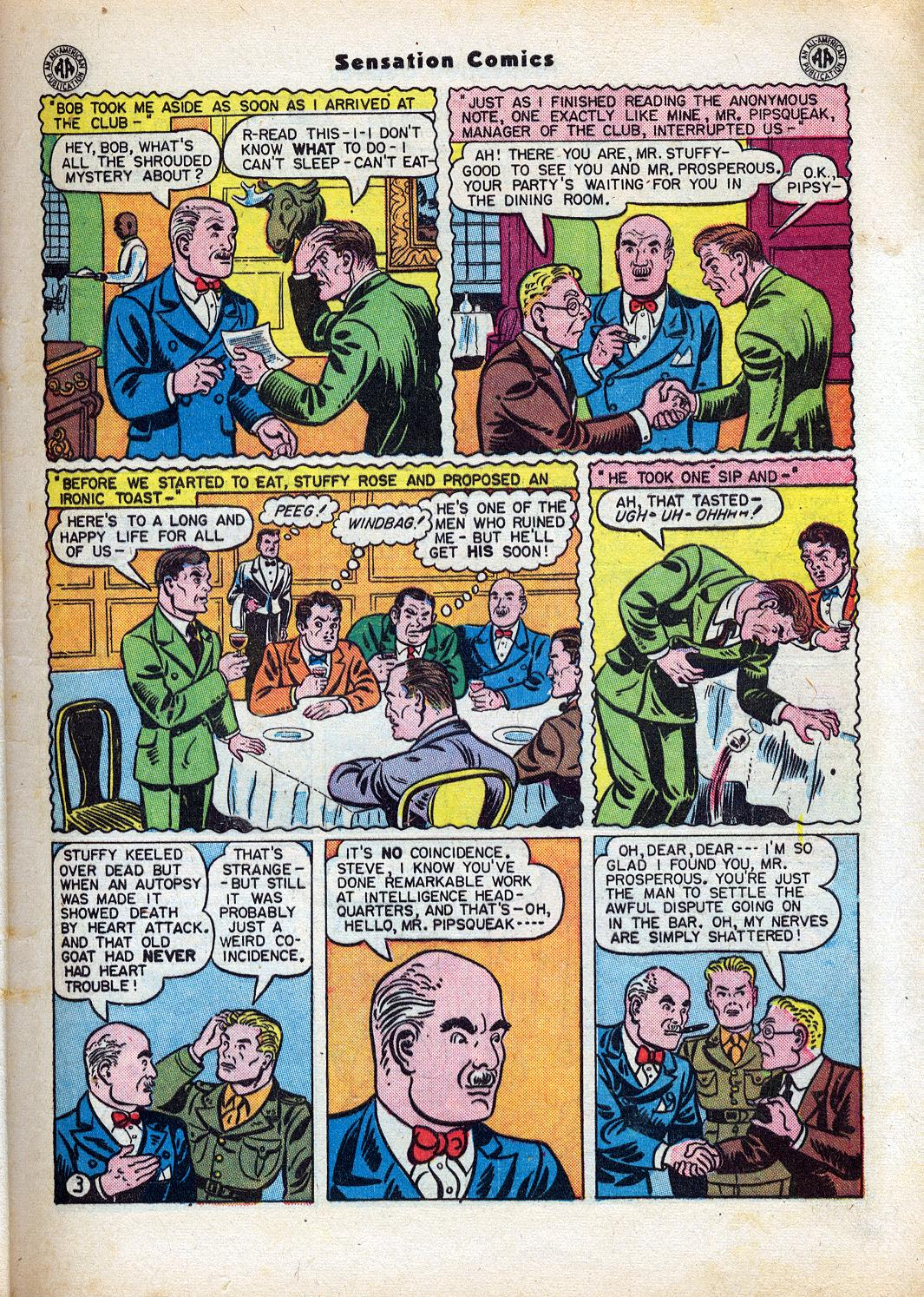 Read online Sensation (Mystery) Comics comic -  Issue #47 - 5