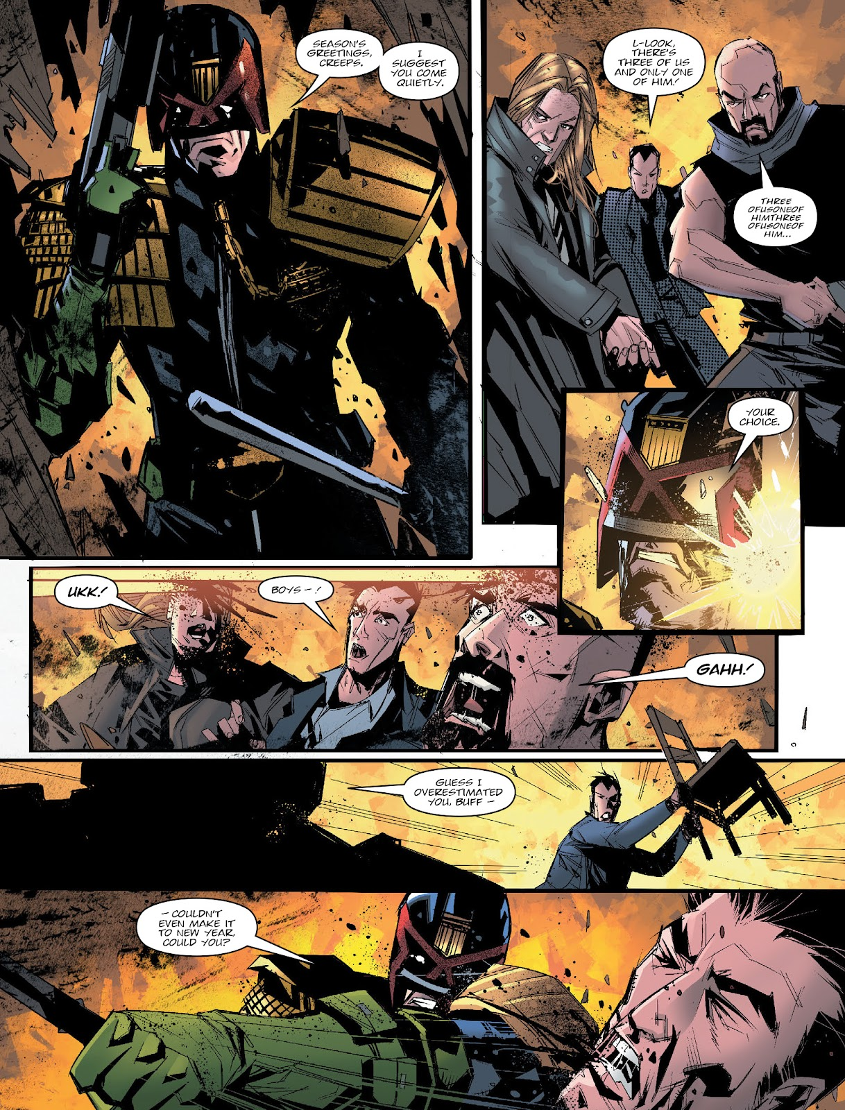 Judge Dredd Megazine (Vol. 5) issue 427 - Page 13