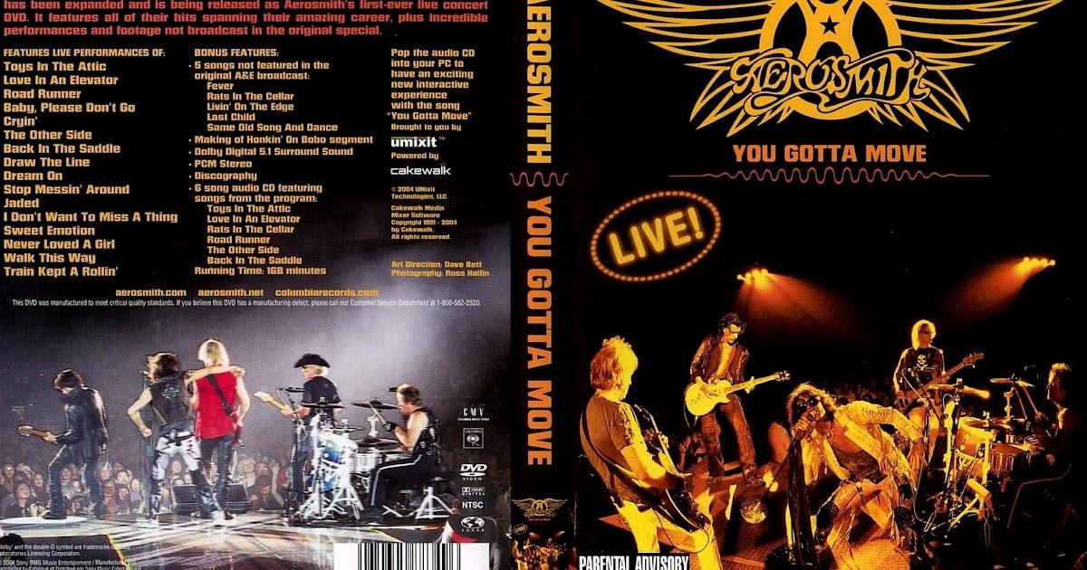 Estante Do Som Aerosmith You Gotta Move