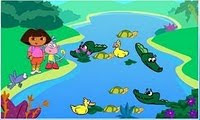 Dora the Explorer Crocodile Lake