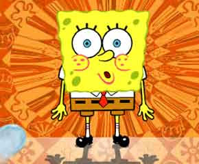 Spongebob ant the treasure