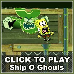 Sponge Bob Square Pants: Ship O' Ghouls