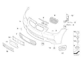 blendlines real oem bmw parts id for pros Dodge R15 e93 m3 m front bumper trim