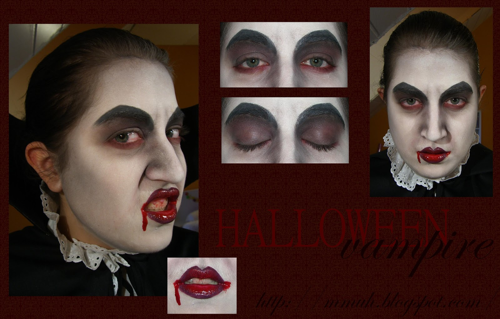 aboutme lanie project make up halloween vampire. Black Bedroom Furniture Sets. Home Design Ideas