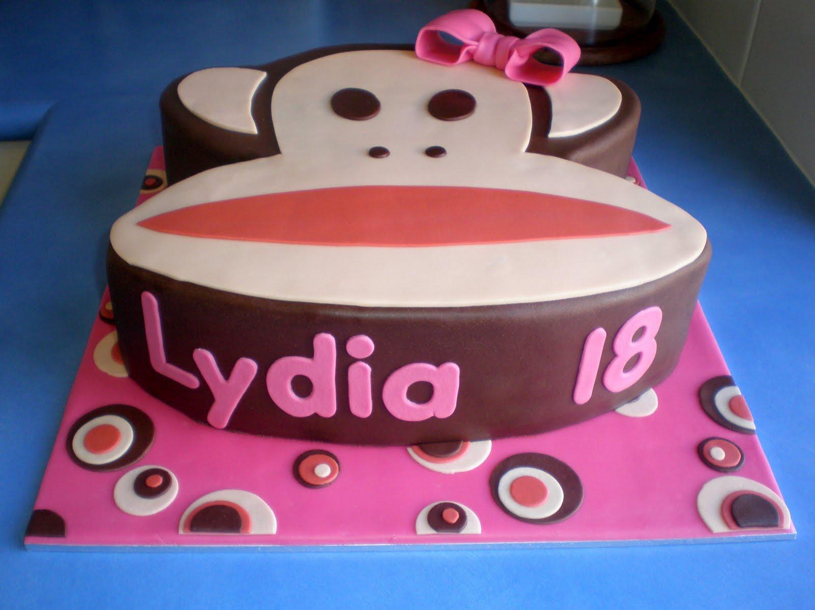 How To Make A Paul Frank Birthday Cake