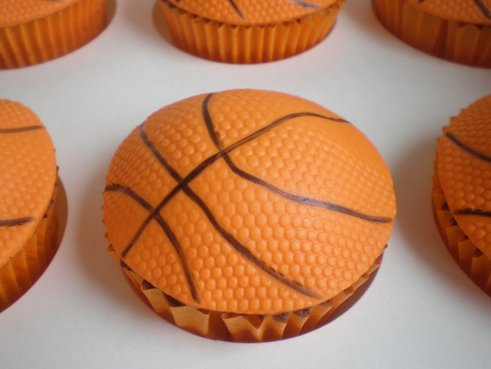 Sugar Siren Cakes Mackay Basketball Cupcakes
