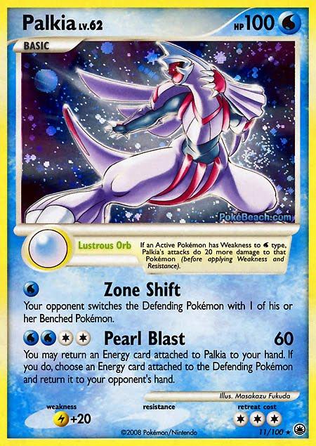 Pokemon Card of the Day: Palkia (Majestic Dawn ...