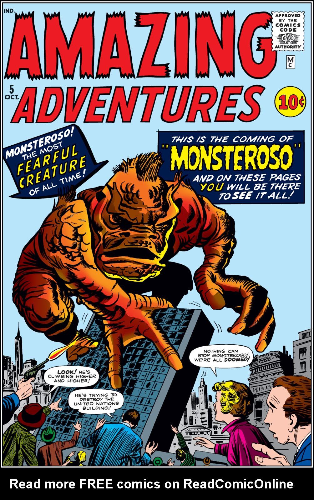 Read online Amazing Adventures (1961) comic -  Issue #5 - 1