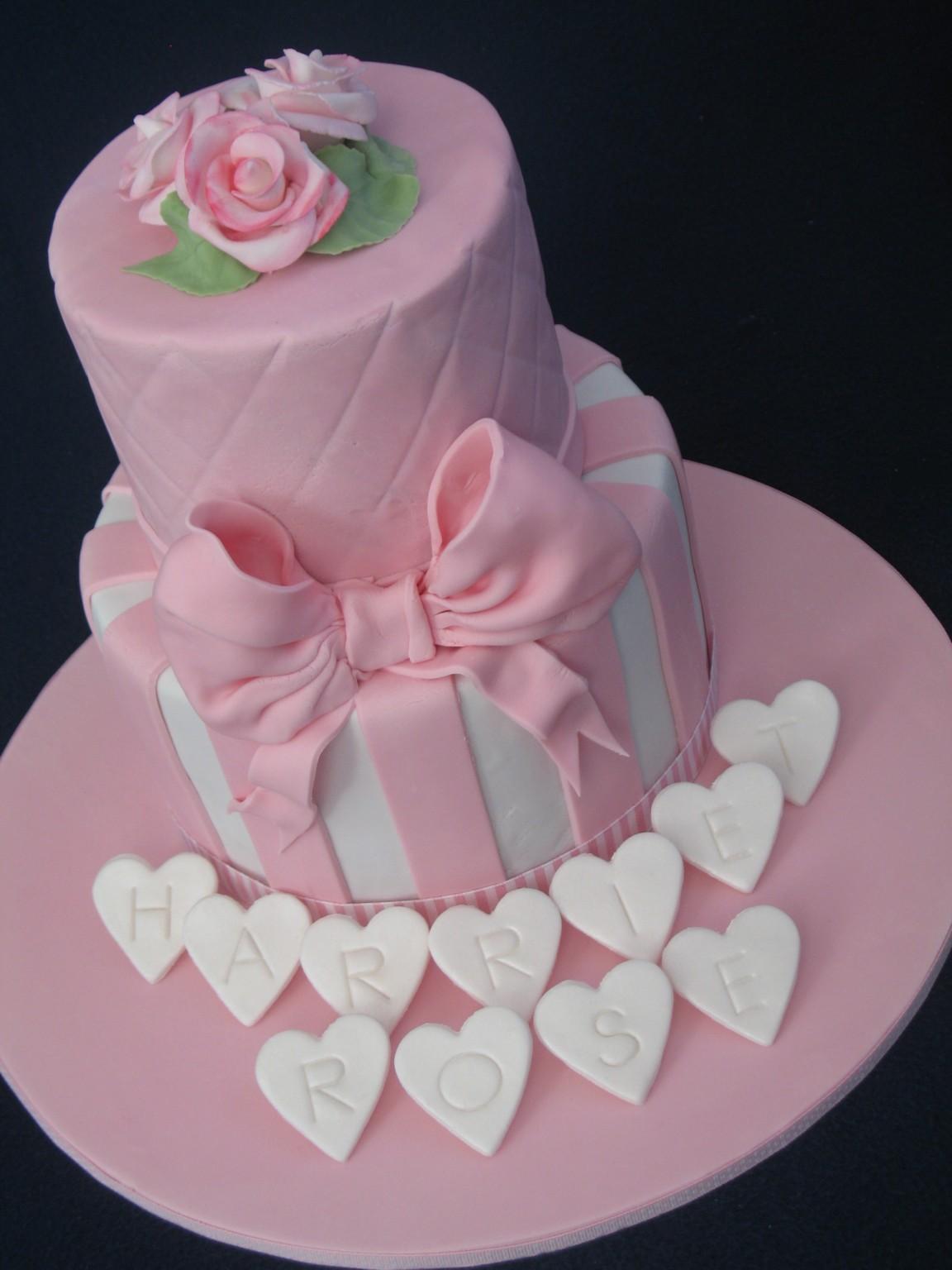 Happy Christening Cake