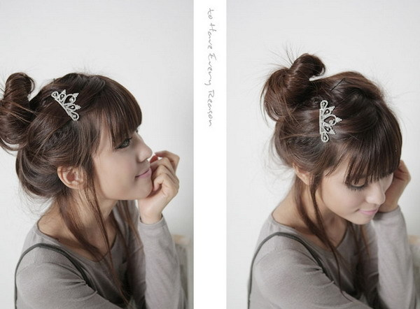 korean celebrity: Pretty and Cute Hair Pin Styles