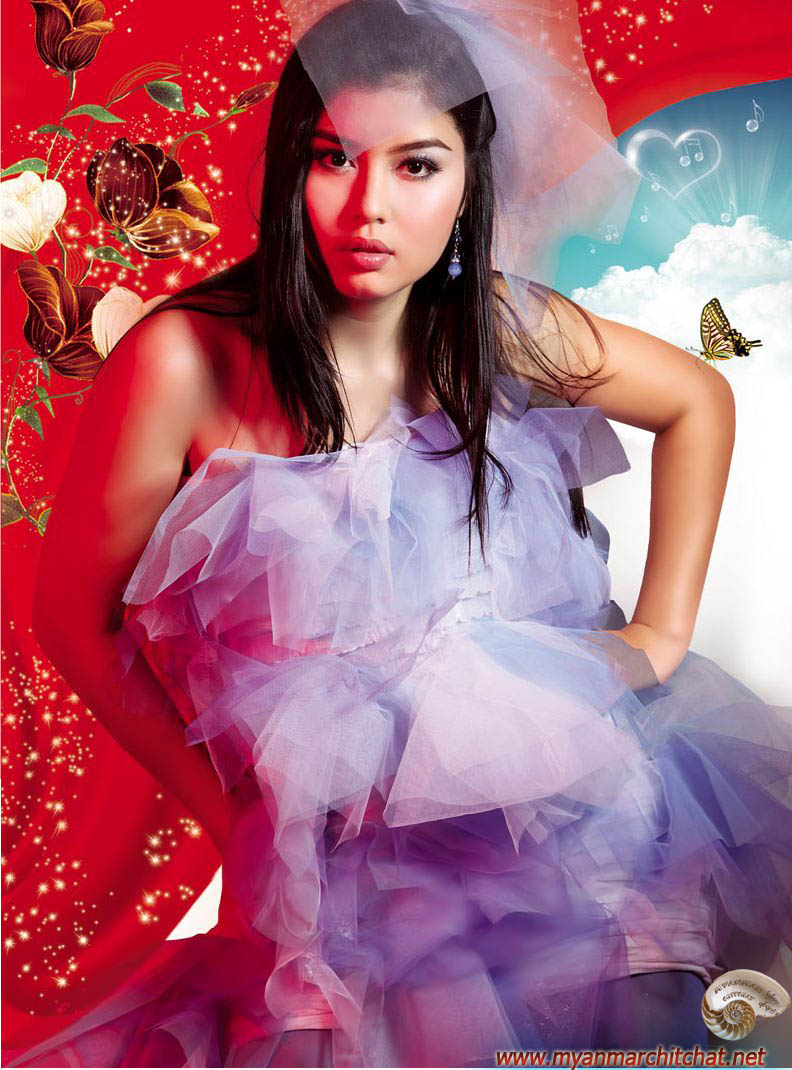 Myanmar Sexy Girls Sweet Angel Melody-7969