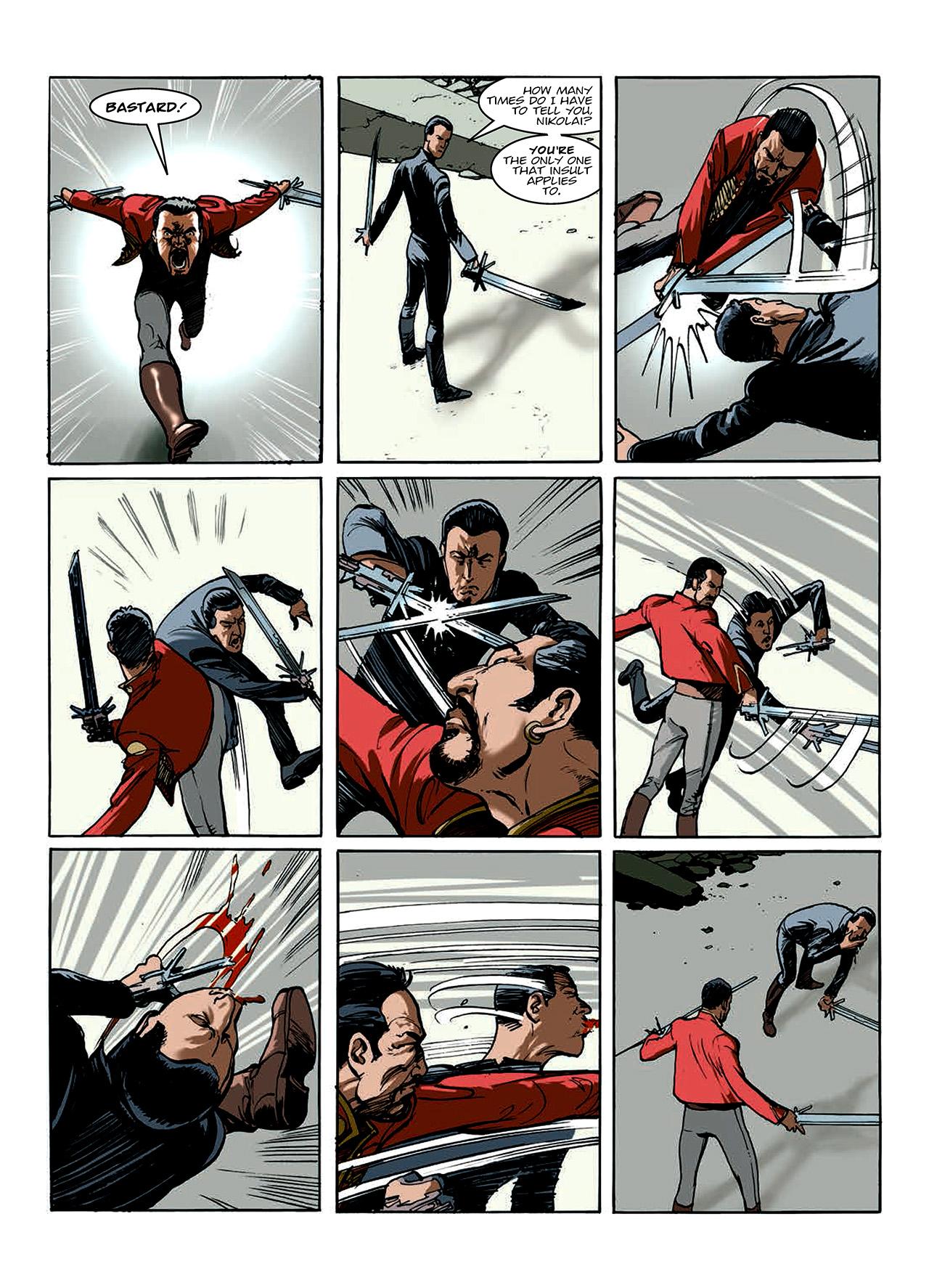 Read online Nikolai Dante comic -  Issue # TPB 10 - 113
