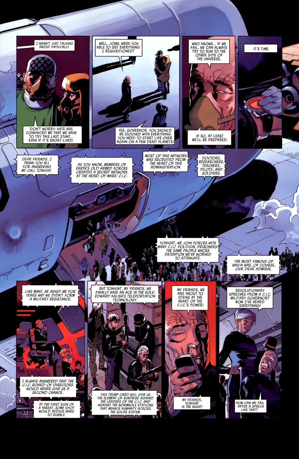 Read online Universal War One: Revelations comic -  Issue #3 - 23