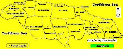 The Jamaican Culture: The Jamaican Culture - Our 14 Parishes