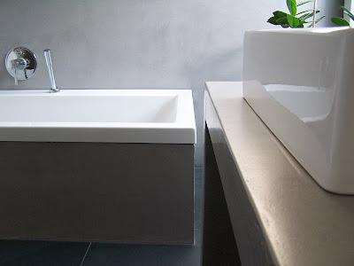 design handwerk betonwaschtisch wandbeschichtung beton cire. Black Bedroom Furniture Sets. Home Design Ideas