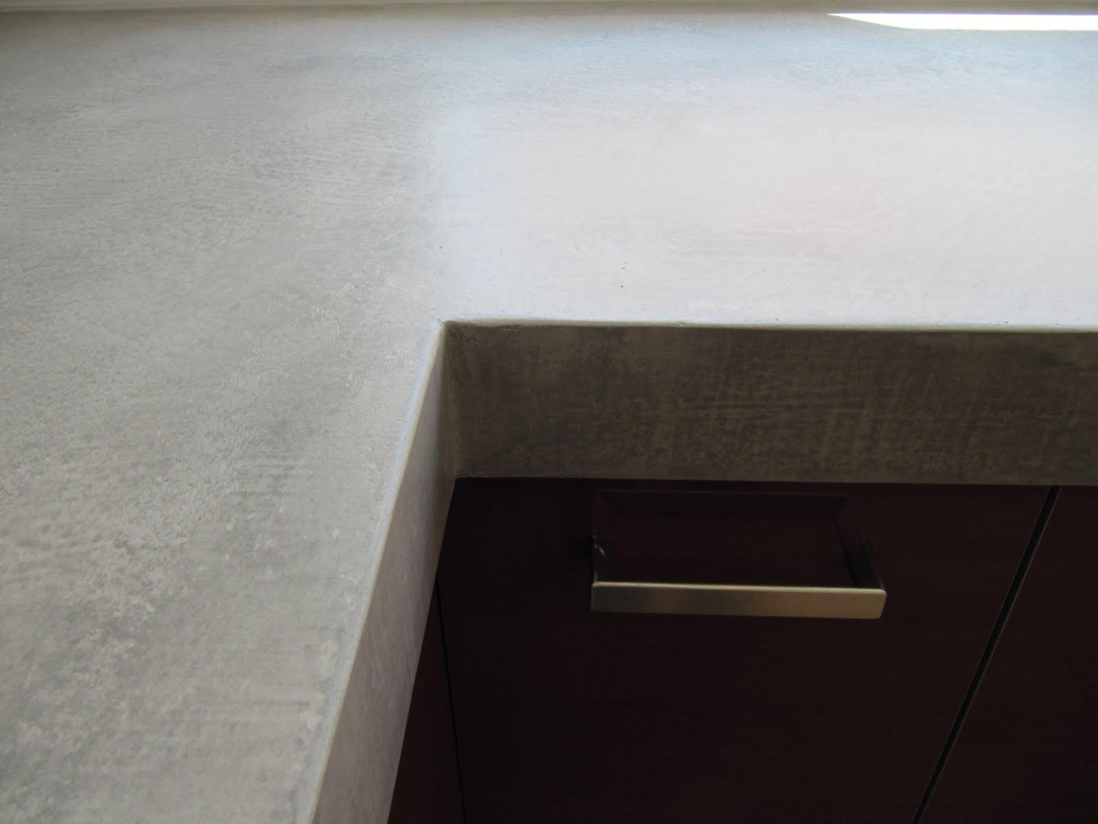 Arbeitsplatte Kuche Beton Cire Beton Arbeitsplatten Bilder Vor Und