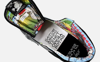 Rick Griffin and his signature aesthetic is among the latest artists of a  previous generation to take the plunge into Vans artist series. d0f2e23a7