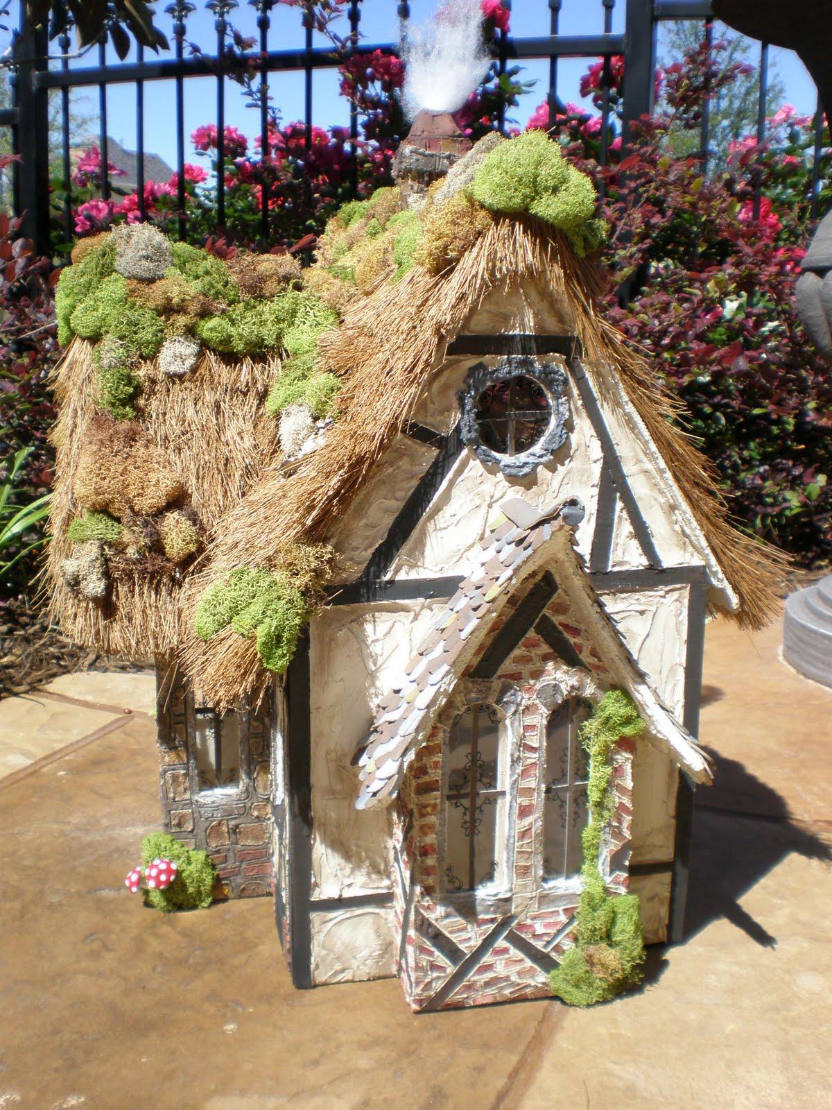 Cinderella Moments Fairytale Storybook Cottage Dollhouse