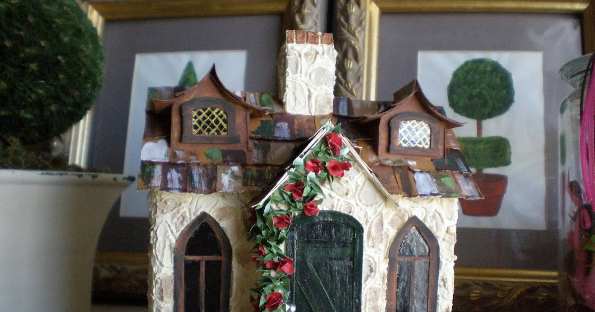 Cinderella Moments Tudor Mini Cottage House