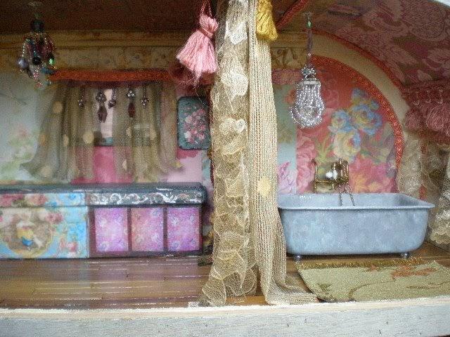 Cinderella Moments Gypsy Travel Trailer Dollhouse