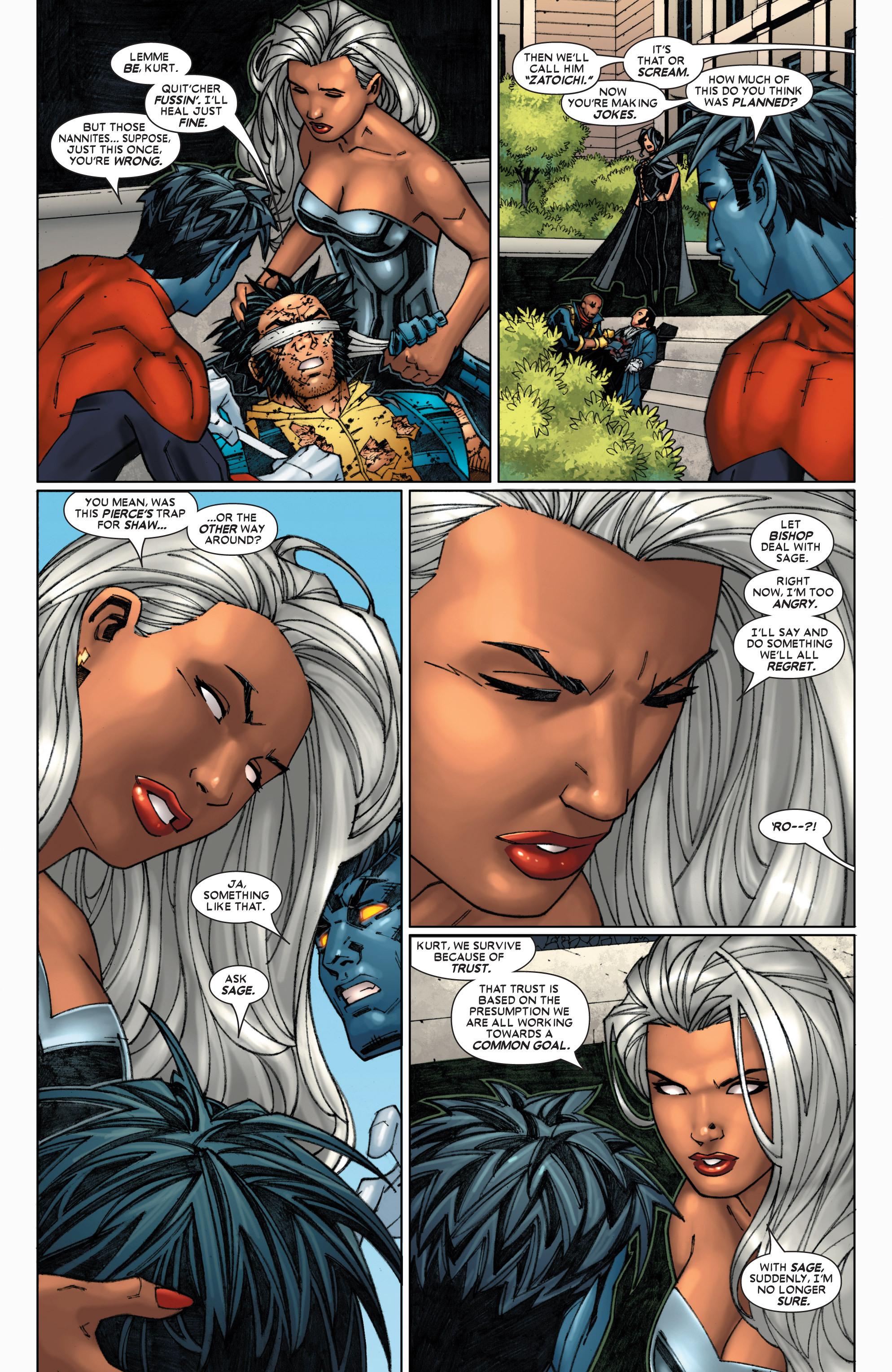 Read online Uncanny X-Men (1963) comic -  Issue #454 - 24