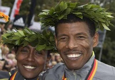 EYASU SOLOMON: Haile Gebrselassie breaks marathon world