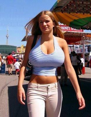 big tits bikini pussy peeking