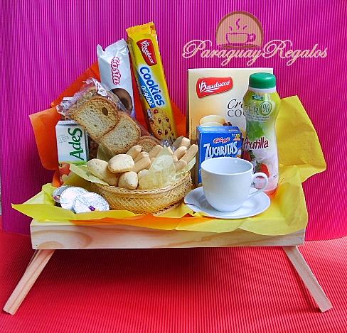 Paraguay regalos canastas - Bandeja desayuno cama ...