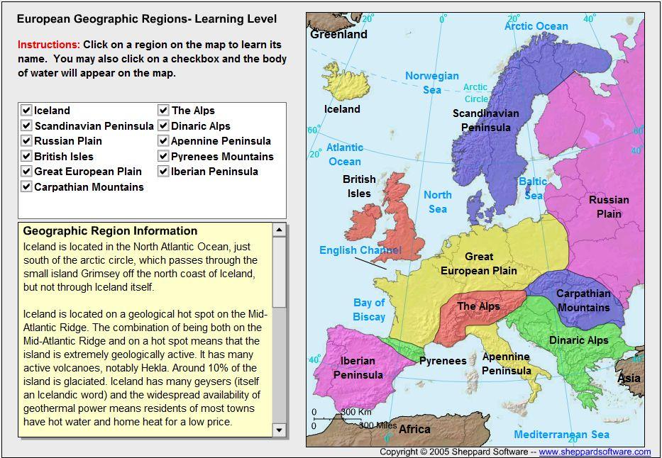 mapa da europa em ingles geografia e ensino de geografia   blog: localizar países e regiões  mapa da europa em ingles
