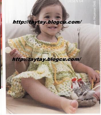 tig isi bebek elbise anlatimi