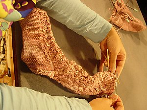 Knitty Gritty Pattern Cookie A S Toe Up Socks Vickie Howell