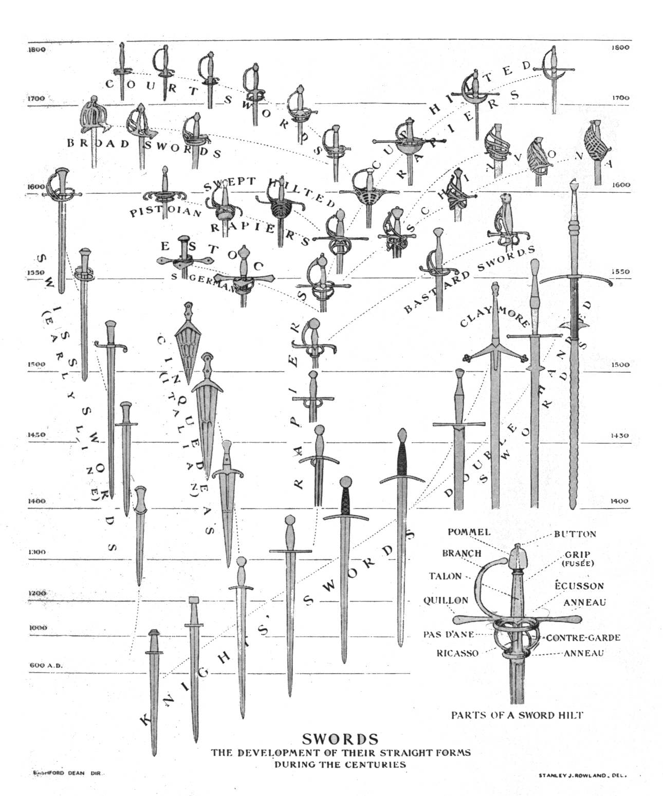 diagram of evolution timeline 1 gang 2 way switch wiring telecanter 39s receding rules sword family tree