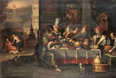 Resultado de imagen de Lázaro y el rico;