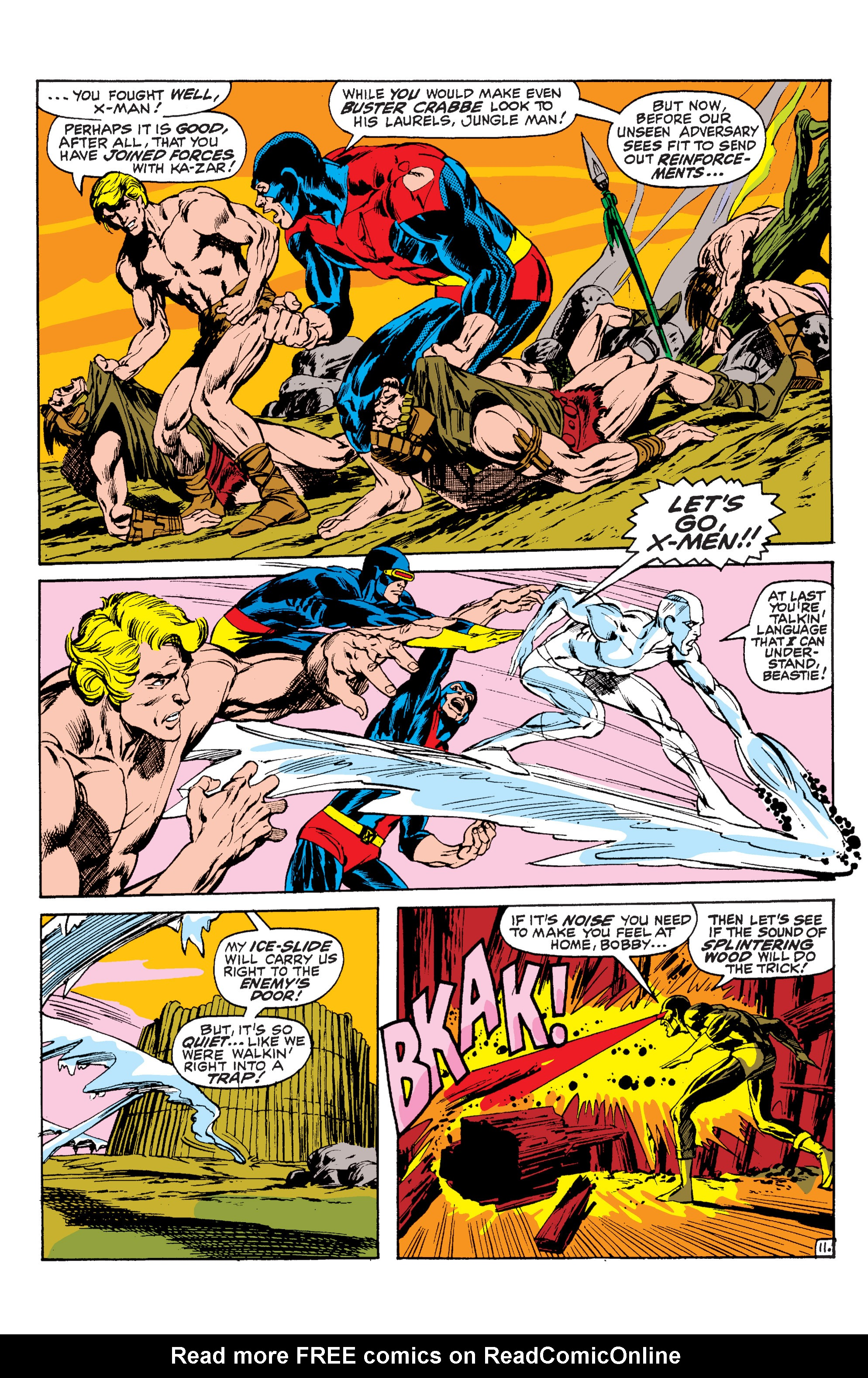 Read online Uncanny X-Men (1963) comic -  Issue #63 - 12