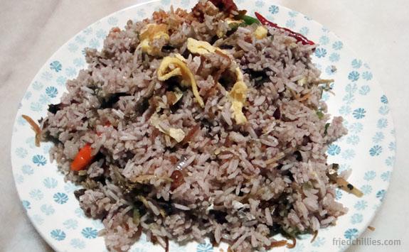 Nasi Aruk Sarawak Recipe