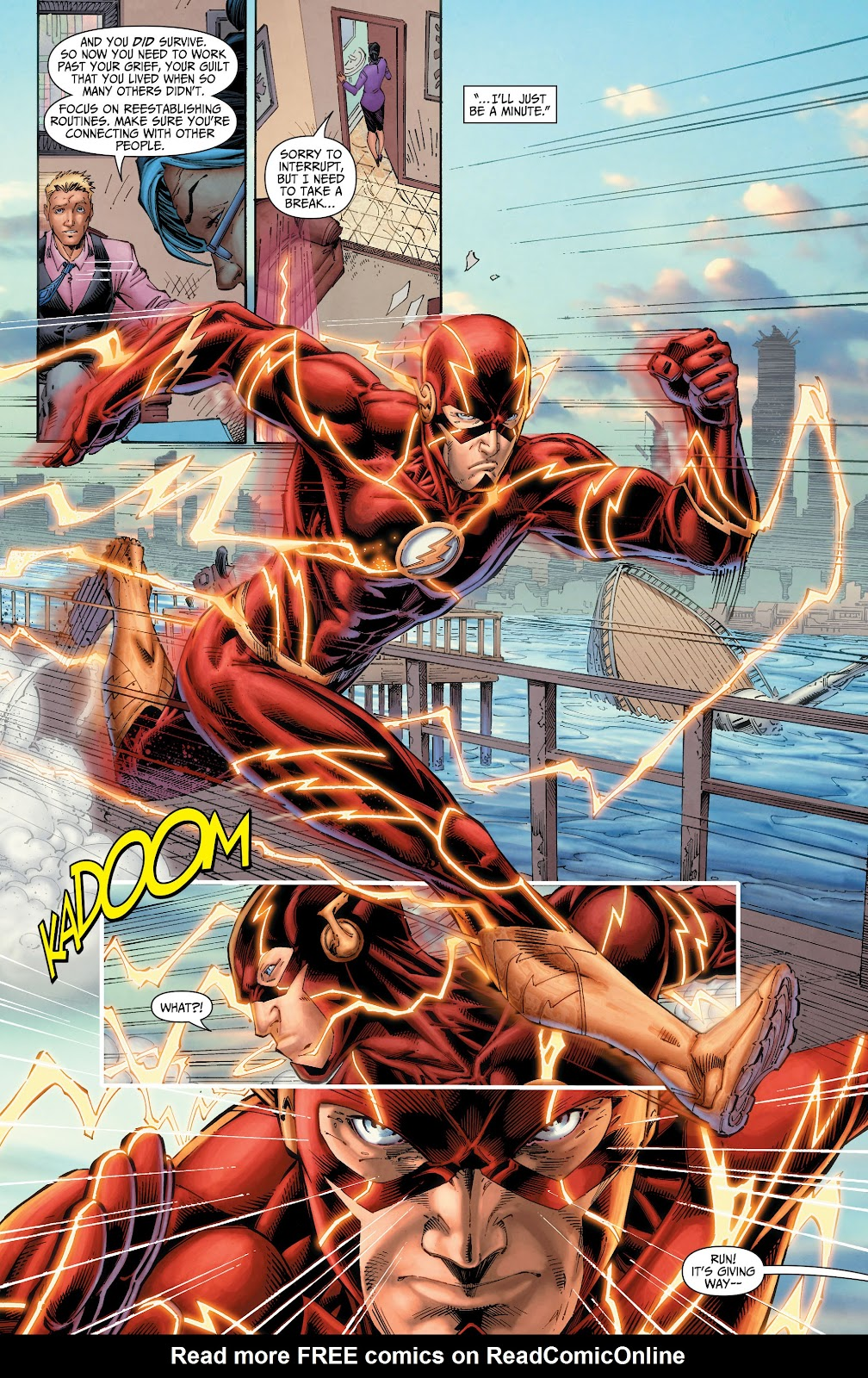 Read online The Flash (2011) comic -  Issue # _TPB 6 (Part 1) - 15