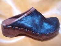 calzature in cavallino nero lucido