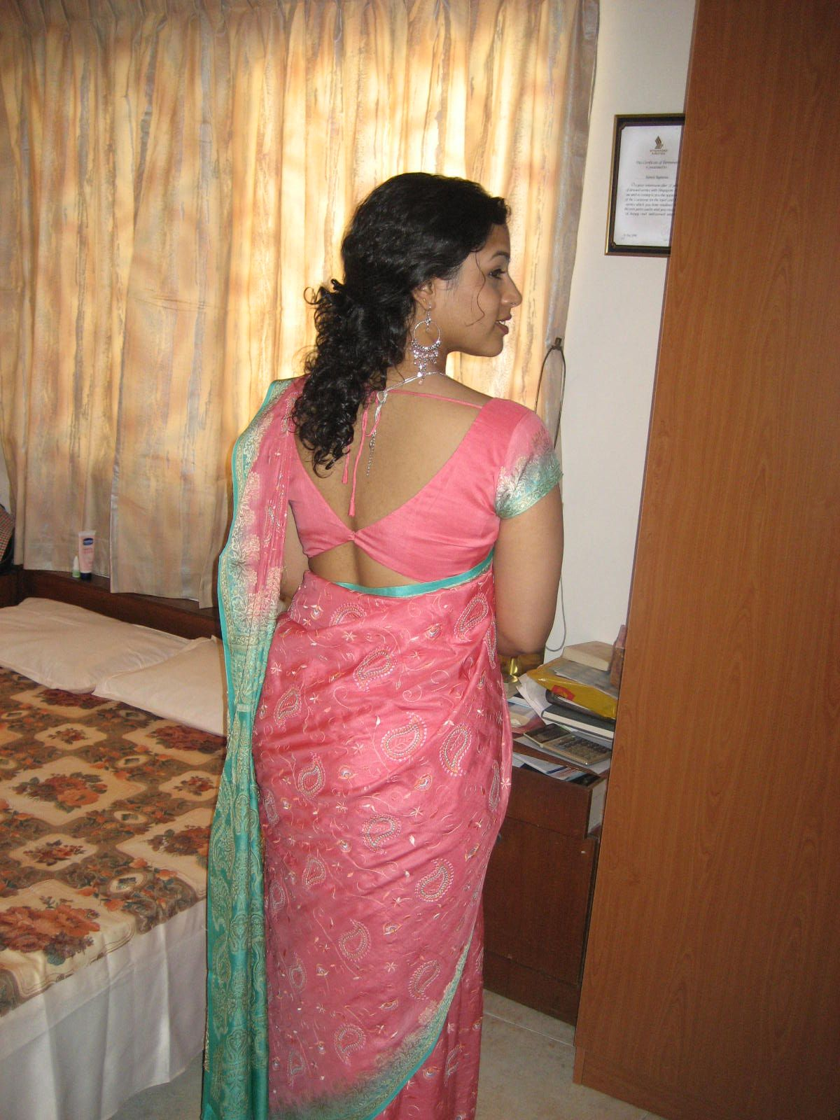 Beauty Of Sri Lanka Lanka Girl Wearing Sexy Sareewooooowwwww-6349