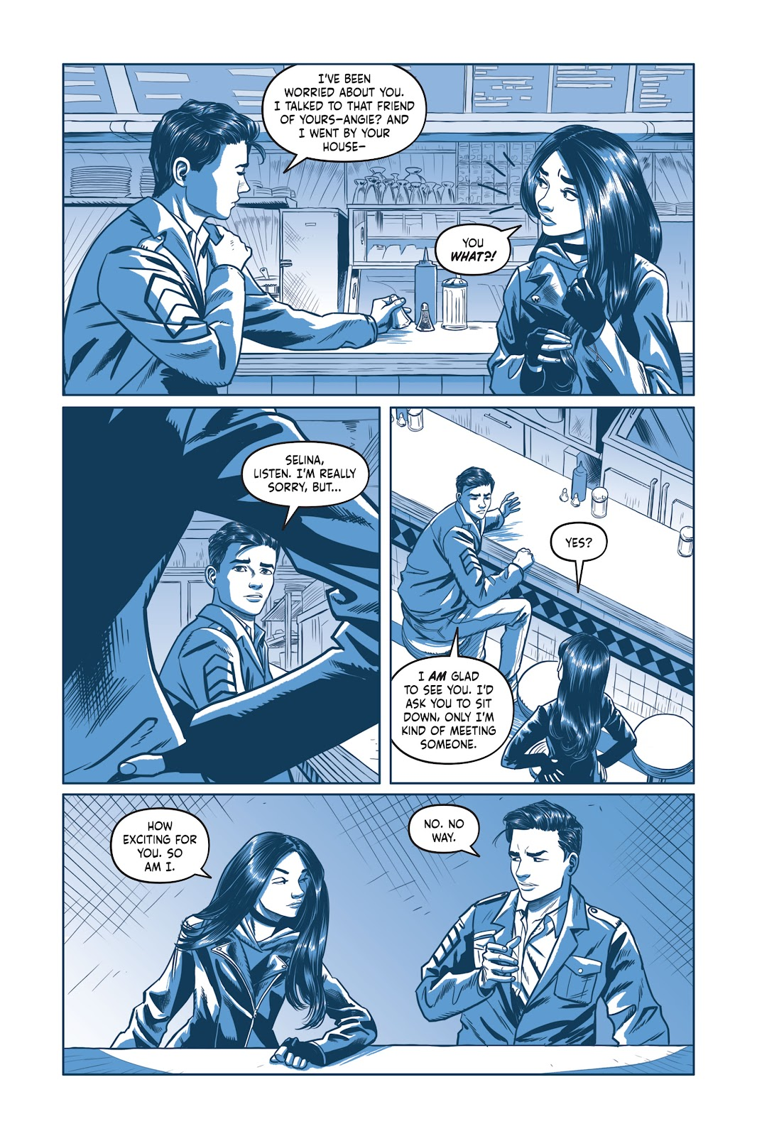 Read online Under the Moon: A Catwoman Tale comic -  Issue # TPB (Part 2) - 60