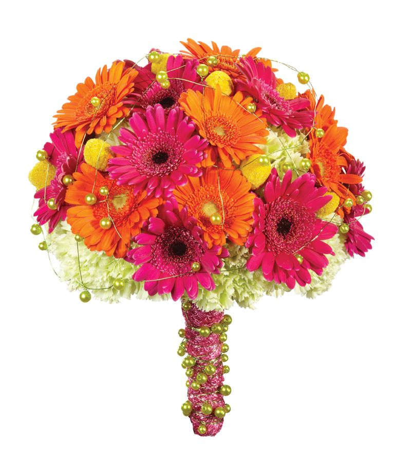 Gerbera Flower Wedding Bouquets: December Bride @ 30s: Gerbera Daisies