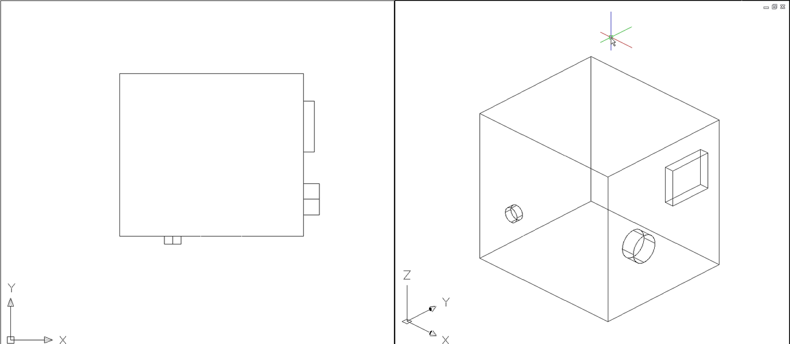 Autocad Viewport