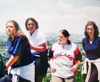 With some CLS Students, 1999