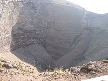 Crater of Mt. Versuvius, Italy