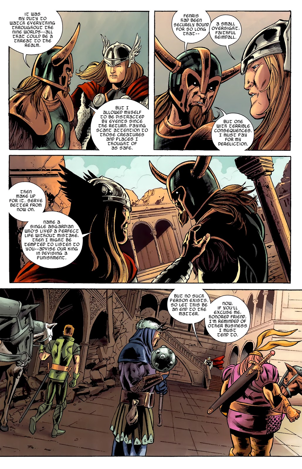 Warriors Three Issue #1 #1 - English 17