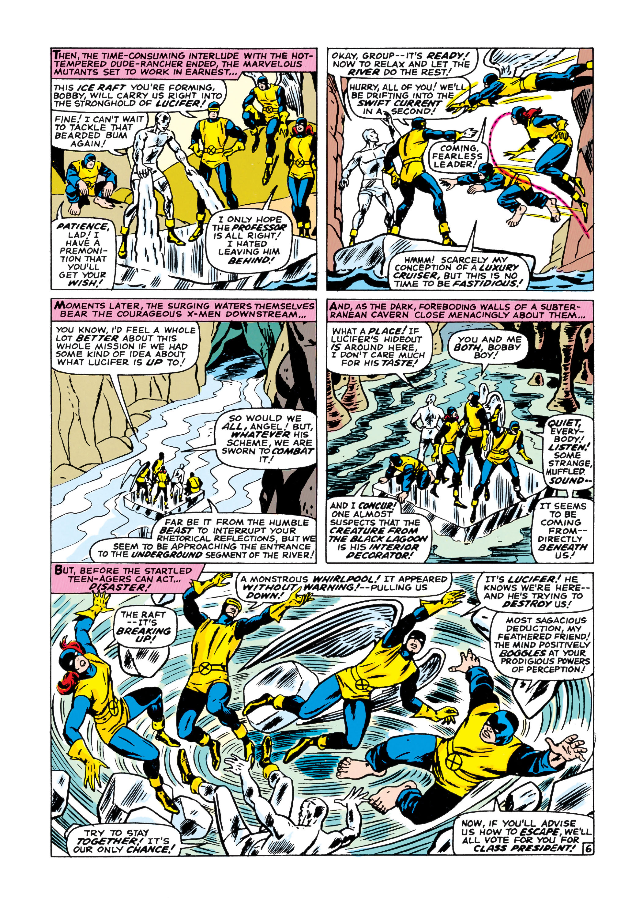 Read online Uncanny X-Men (1963) comic -  Issue #21 - 7