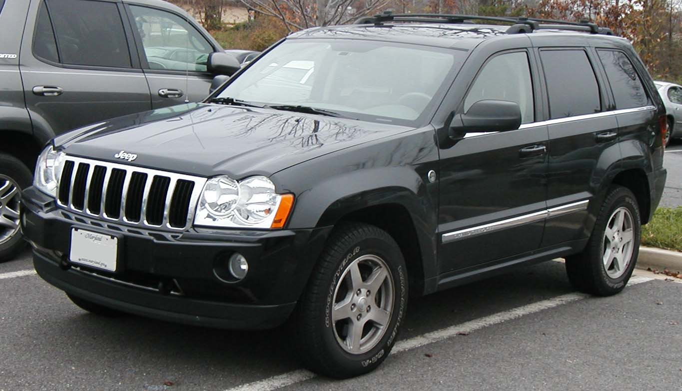 The Poor Car Reviewer: 2007-2010 Jeep Grand Cherokee Laredo