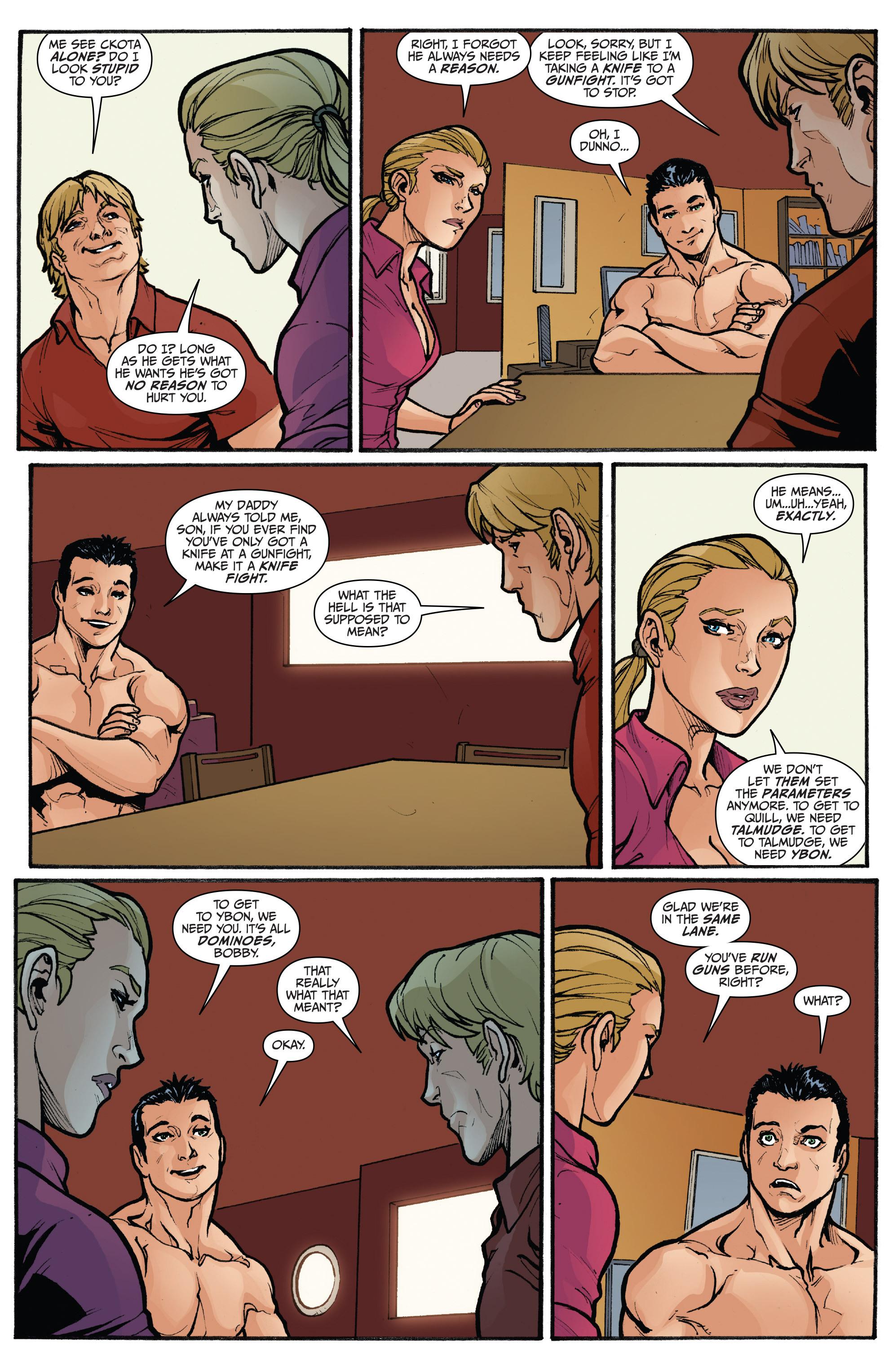 Read online 3 Guns comic -  Issue #5 - 18