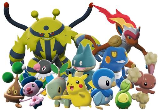 Lista de Pokemones: Cuarta Generación: Sinnoh